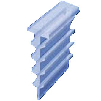 Channel Seal for Bi Folding Shower Door