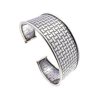 Кристиан серебряный зажим браслет
