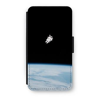 iPhone X Flip Case - Alone in Space