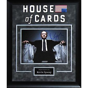 House Of Cards - Signed by Kevin Spacey - Framed Artist Series