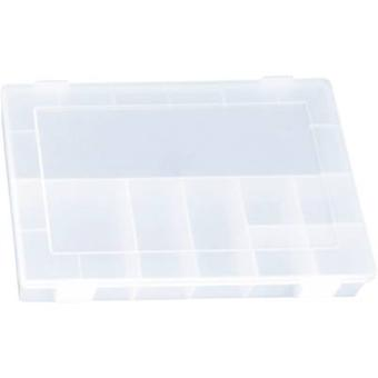 Assortment box (L x W x H) 335 x 225 x 55 mm Alutec No. of compartments: 8 fixed compartments