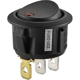 Toggle switch 250 V AC 10 A 1 x Off/On SCI R13-208