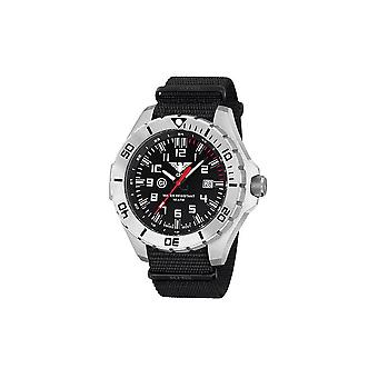 KHS watches mens watch steel KHS country leader. LANS.NB