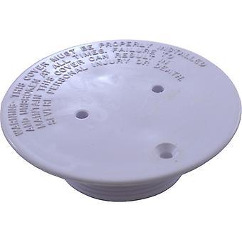 Pentair 08417-0005 Deckel Platte für einstellbare Boden Inlet Fitting - weiß