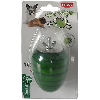 Tyrol Apple To Gnaw Tutti Woody (Small pets , Toys)