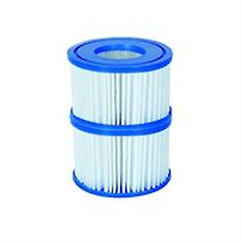 Filter Cartridge VI for Lay-Z-Spa Miami, Vegas, Monaco 12x Twin Pack