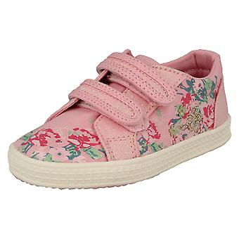 Girls Startrite Casual Canvas Shoes Edith 2 - Pink Canvas - UK Size 11F - EU Size 29 - US Size 12