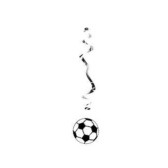 Футбольный висит вихрем украшения