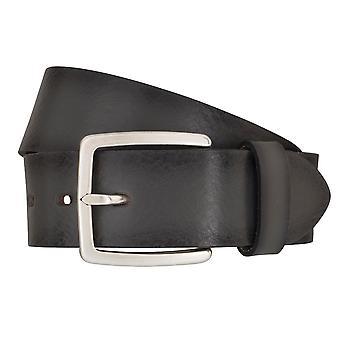 LLOYD Men's belt belts men's belts leather belts men's leather belts grey 6839