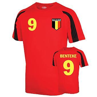 Belgium Sports Training Jersey (benteke 9) - Kids