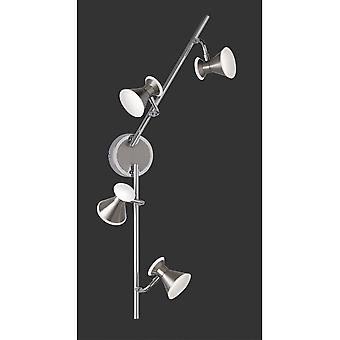 Trio Lighting Duke Modern Nickel Matt Metal Spot