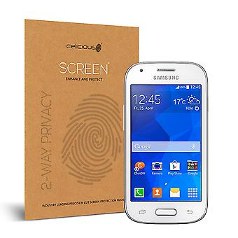 Celicious Privacy 2-Way Visual Black Out Screen Protector for Samsung Galaxy Ace Style