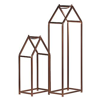 Hill Interiors Copper Finished Tall Log Holders