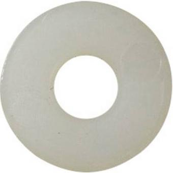 TOOLCRAFT 3,2 D9021 POLY 194730 Washers Inside diameter: 3.2 mm M3 DIN 9021 Plastic 100 pc(s)