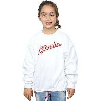 Blondie Girls Lines Logo Sweatshirt