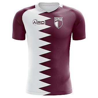2018-2019 Qatar Home Concept Football Shirt
