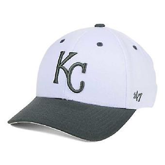 Kansas City Royals MLB 47 Brand MVP Two Tone Adjustable Hat