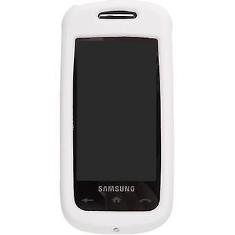 Soluciones inalámbricas caja de Gel para Samsung SPH-M810 Instinct - blanco