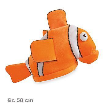 Hat clownfish fish Hat plush Hat