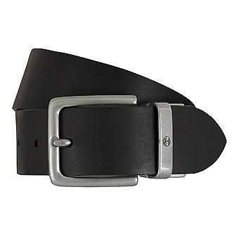 Ceintures pour hommes ceintures de Timberland en cuir denim ceinture réversible ceinture noir/brun 7441