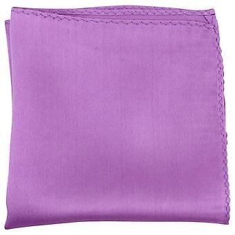 Knightsbridge Neckwear poszetka w Fine Silk - głęboki fioletowy