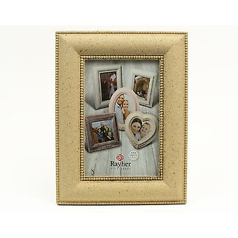 Bevelled Rectangle MDF Wood Photo Frame to Decorate - 20cm by 15cm