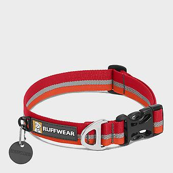New Ruffwear Reflective Crag Dog Collar Red