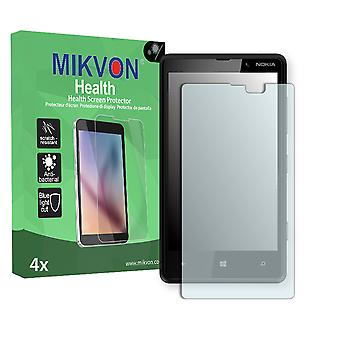 Nokia Lumia 820 Screen Protector - Mikvon Health (Retail Package with accessories)