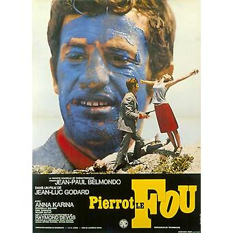 Pierrot le Fou Movie Poster (11 x 17)
