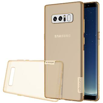 NILLKIN Samsung Galaxy Note 8 Nature Series 0.6 mm TPU-Gold