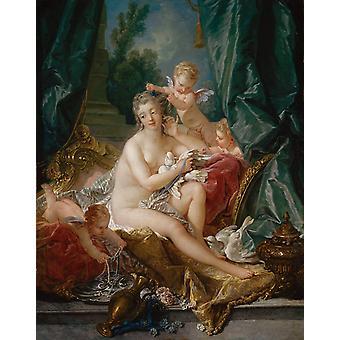 Туалет Венеры, Франсуа Буше, 50x40cm ny03