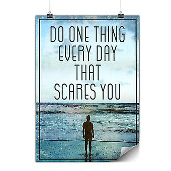 Matte or Glossy Poster with Life Motivation | Wellcoda | *y2615