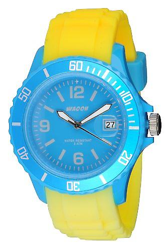 Waooh - Watch Monaco34 - Two-tone turquoise &