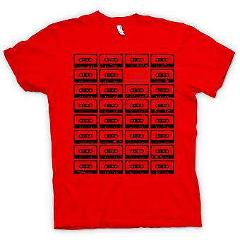 Womens T-shirt - Old School Tapes - Retro
