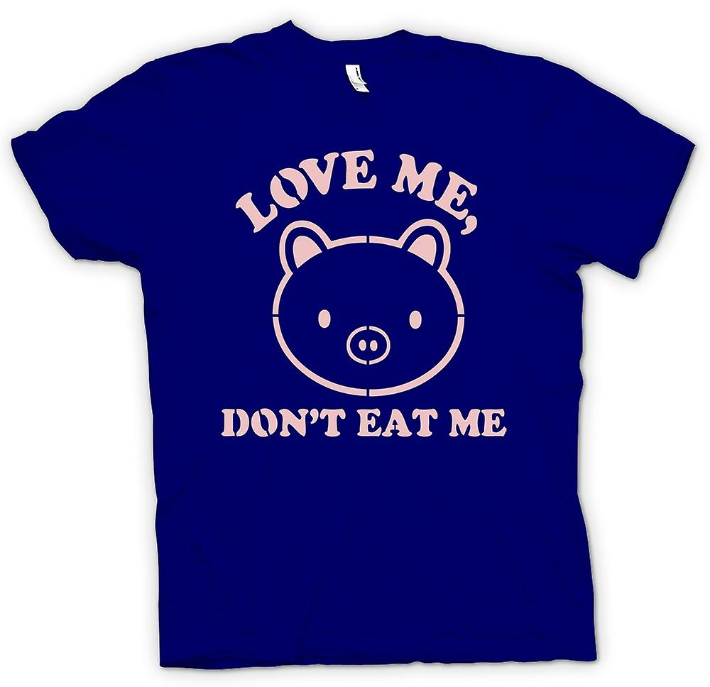 Mens t-shirt - Love Me, Don t Eat Me - divertente