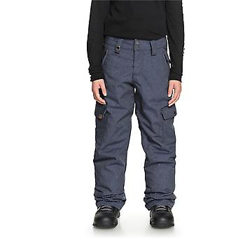 Quiksilver Dress Blues Porter Denim Kids snowboarden broek