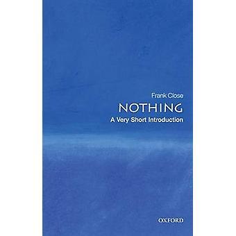 لا شيء--مقدمة قصيرة جداً قبل إغلاق فرانك-كتاب 9780199225866