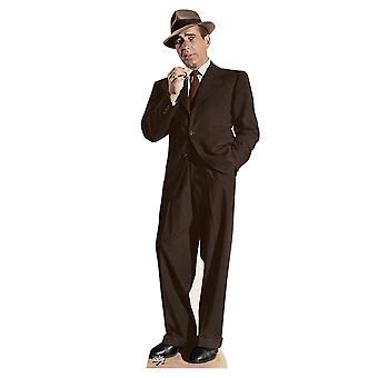 Humphrey Bogart Lifesize Karton Ausschnitt / f