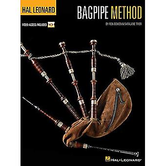 Bowen Ron Hal Leonard säckpipa metod Bagp Bk/Dvd
