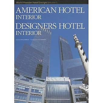 Amerikaans interieur van het Hotel (World Premier Hotel ontwerp)