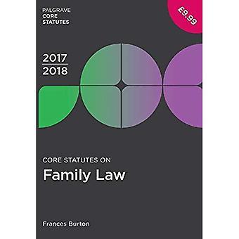 Core säännöt perheen lain 2017-18 (Palgrave Core perussääntö)