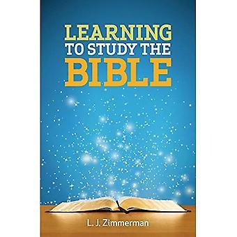 Apprendre à étudier le livre Participant de la Bible