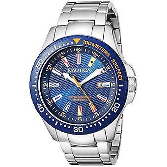 Nautica Analogueico Watch quartz mannen met stainless steel band NAPJBC004