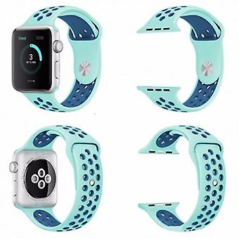 Apple Watch 42 mm Sports bracelet Turquoise-Blue