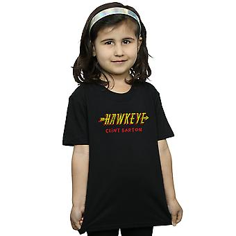 Marvel Girls Hawkeye AKA Clint Barton T-Shirt