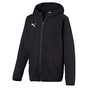 PUMA League casuals Hoody Jr children hooded jacket black