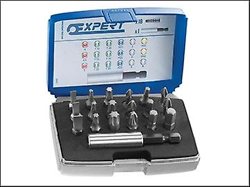 Britool 1/4in Bit Set 19 Piece + Bit Holder