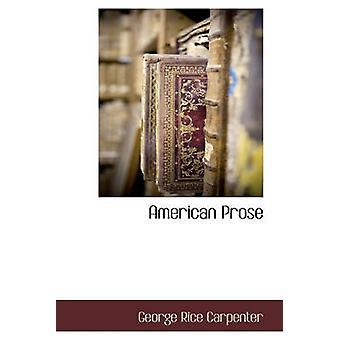 Amerikanske prosa av snekker & George ris