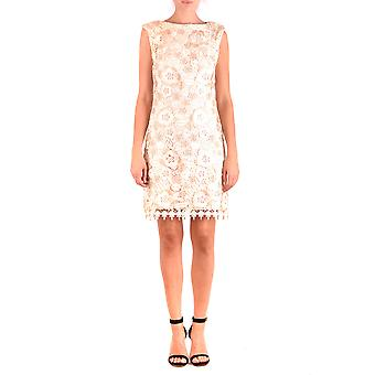 فستان البوليستر رالف لورين الوردي