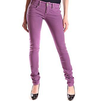 Pinko paarse Cotton Jeans